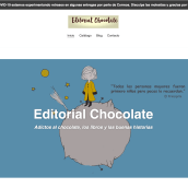 Editorial Chocolate. Un proyecto de e-commerce y Escritura de Editorial Chocolate - 25.04.2020