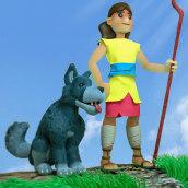 David the Sheeperd. Un proyecto de Animación 3D, Animación de personajes y Diseño de personajes 3D de Jorge Moreno - 17.05.2020