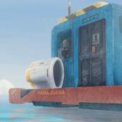 Explorador. Um projeto de Ilustração digital, Concept Art e Pixel Art de Juan Pablo Ojeda Menares - 17.05.2020