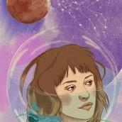 Mi Proyecto del curso: Técnicas de ilustración con acuarela digital. Un projet de Illustration numérique et Illustration de portrait de Inma Velasco Aguayo - 19.05.2020