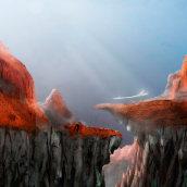 My project in Matte Painting: Creating Photorealistic Worlds course. Un proyecto de Ilustración, Ilustración digital, Concept Art y Pintura digital de João Miguel Andrés Xavier - 19.05.2020
