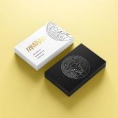 Mi Proyecto del curso: Tipografía y Branding: Diseño de un logotipo icónico. Un proyecto de Diseño gráfico, Diseño de logotipos y Diseño tipográfico de Viviana Roberti - 19.05.2020