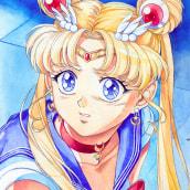 Sailor Moon Redraw Challenge por Andrea Jen. Un projet de Dessin , et Character Design de Andrea Jen - 20.05.2020