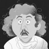YOUNG FRANKENSTEIN CARICATURES. Un progetto di Illustrazione, Direzione artistica, Character Design, Cinema, Disegno, Illustrazione di ritratto, Disegno artistico , e Disegno digitale di Jota Han - 25.05.2020