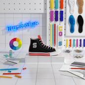 CONVERSE #COLLEGIATE. Um projeto de 3D, Direção de arte e Animação 3D de noelia lozano cardanha - 27.05.2020