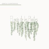 El món de les Plantes. Un proyecto de Diseño, Dirección de arte, Diseño gráfico, Creatividad, Diseño de logotipos y Composición fotográfica de Cristina Grau - 30.05.2020
