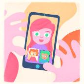 na40TEna. Un proyecto de Ilustración, Ilustración vectorial e Ilustración digital de juliana takeuchi - 30.05.2020