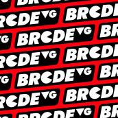 BRCDEVG News Logo. Un progetto di Motion Graphics, Br, ing e identità di marca, Infografica e Illustrazione vettoriale di Raúl González - 01.10.2019