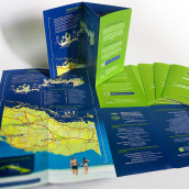 Brochure de Excursiones para Agencia de Viajes . A Verlagsdesign und Grafikdesign project by Ernesto Carrazana - 01.06.2019