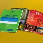 Catálogo Institucional para Agencia de Viajes. A Verlagsdesign und Grafikdesign project by Ernesto Carrazana - 01.06.2018