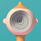 Character Experiments. Un proyecto de 3D, Animación, Animación 3D, Modelado 3D y Diseño de personajes 3D de Laurie Rowan - 01.06.2020