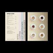 Spice Café – Identidad Visual.. Un proyecto de Br, ing e Identidad, Diseño gráfico y Diseño de logotipos de Gabriela Hernandez - 27.04.2020