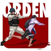 Orden. A Illustration project by Enrique Asgard Garduño Ramirez - 10.01.2020