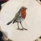 Mi Proyecto del curso: Pintar con hilo: técnicas de ilustración textil. Un proyecto de Bordado de Carlos Lara - 03.06.2020