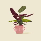 Intgarden. Um projeto de Ilustração botânica, Ilustração digital e Ilustração vetorial de Fabiola Correas - 03.06.2020