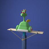 The Cookie Factory. Un progetto di 3D , e Animazione 3D di Yonito Tanu - 03.06.2018