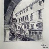 Venice. Un progetto di Illustrazione di Alessandra Cesarato - 07.06.2020