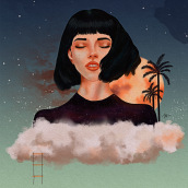 Mi Proyecto del curso: Retratos digitales de fantasía con Photoshop. Un proyecto de Dibujo digital de Diana Perozo - 07.06.2020