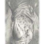 ...just another sketch.... Un proyecto de Ilustración, Bellas Artes, Bocetado, Dibujo a lápiz, Dibujo, Dibujo realista y Dibujo artístico de Helena de la Cruz - 08.06.2020