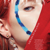 Liezo en blanco @Harpers Bazaar. A Photograph, Art Direction, and Fashion photograph project by Nobody Studio - 06.09.2020