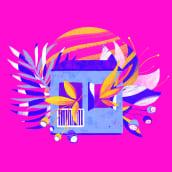 mundo floral. Un proyecto de Ilustración, Ilustración digital e Ilustración botánica de juliana takeuchi - 09.06.2020
