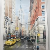 My project in Urban Landscapes in Watercolor course. A Watercolor Painting project by Elena Lanzoni - 06.11.2020