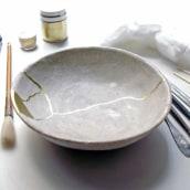 Kintsugi con oro a ras. Un projet de Céramique de Clara Graziolino - 11.06.2020