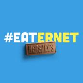 Hershey's Eaternet. Um projeto de Publicidade, Packaging, Design de produtos, Web design, Cop, writing, Criatividade, Roteiro, 3D Design e Criação e Edição para YouTube de Erica Igue - 13.09.2016