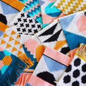 Diseños 2019-2020. Um projeto de Design, Ilustração têxtil, Decoração de interiores e Tecido de Flor Samoilenco - 01.01.2019