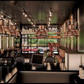 LOLA M , Estudio Tablón. Un progetto di 3D, Architettura, Architettura d'interni, Creatività, Marketing digitale, Disegno artistico, Interior Design, Architettura digitale , e Design digitale di Fernando Neyra Moreta - 14.06.2020