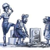 Las enterradoras bionicas. Un proyecto de Cómic de Ficci Orama - 15.06.2020
