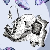 covidxixinkchallenge. A Illustration, Sketching, Drawing, Artistic drawing, and Digital Drawing project by Fátima Aguilera Sánchez - 06.15.2020