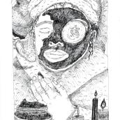 Chocolate. Um projeto de Ilustração, Desenho e Ilustração com tinta de Lucía Coz - 15.06.2018