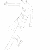 Mi Proyecto del curso: Dibujo anatómico para principiantes. Um projeto de Artes plásticas e Desenho anatômico de Miryam Isern Muñoz - 16.06.2020