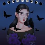 Era para ser uma bruxa.... Un proyecto de Dibujo y Dibujo digital de micaele.magalhaes6 - 05.06.2020
