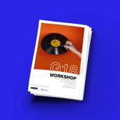 G18. Um projeto de Design, Design editorial, Design gráfico, Design de cartaz e Design digital de Joan Romero Tarriño - 15.12.2017