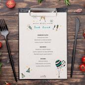 Plantilla menú San Juan. Un proyecto de Ilustración, Dirección de arte, Diseño gráfico, Ilustración vectorial y Diseño de carteles de Cristina Grau - 21.06.2020