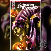 The Amazing Spiderman - Variant Cover Green Goblin . Um projeto de Desenho artístico e Desenho realista de Mariano Mattos - 22.06.2020
