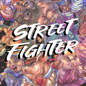 PIG FIGHTER. Un progetto di Illustrazione digitale di Jesús Félix-Díaz - 23.06.2020