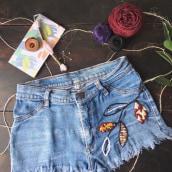 Bordado para Instagram Hand Made . Un proyecto de Bordado de yelitza diaz jaimes - 26.06.2020