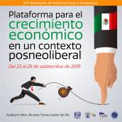 XVI Seminario de Política Fiscal y Financiera. A Design, Illustration, Editorial Design, and Poster Design project by Alejandro Orozco - 09.20.2019