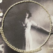 Proyecto de curso: Papel/Mujer. A Embroider, and Collage project by Angela - 06.27.2020