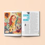 Editorial para Revista Semana 2020. Un progetto di Illustrazione, Progettazione editoriale, Illustrazione digitale, Illustrazione di ritratto, Disegno di ritratto, Disegno digitale , e Pittura digitale di Natalia Rojas - 27.06.2020