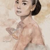 Mi Proyecto del curso: Retrato ilustrado con Procreate. Un proyecto de Ilustración digital e Ilustración de retrato de Ana Rubio - 30.06.2020
