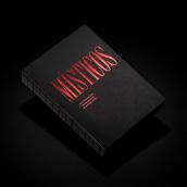 Místicos — Catálogo y diseño expositivo. Um projeto de Design editorial, Design gráfico e Señalética de Andrés Guerrero - 03.07.2020
