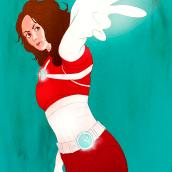 Heroínas DC/ Marvel. Un proyecto de Ilustración, Diseño de personajes, Animación 2D, Dibujo e Ilustración digital de Hector Grois - 05.07.2020