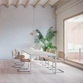 Imágenes 3D de la reforma de un piso en Poble Nou, Barcelona. Crü Studio. . A Design, 3D, Architecture, and Design 3D project by María Alarcón - 06.20.2019