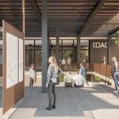 Imágenes 3D para concurso del COAC, Barcelona. Marta García + Àngela G. Casas.. A Design, 3D, Architecture, and Design 3D project by María Alarcón - 09.10.2019