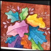 Proyecto del curso: Creación de paletas de color con acuarela. Um projeto de Ilustração, Pintura em aquarela e Ilustração botânica de Ana P Garza - 10.07.2020