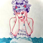 The Common Devil. Un progetto di Illustrazione, Bozzetti, Creatività, Disegno a matita , e Disegno di Nicole Roberts - 10.07.2020